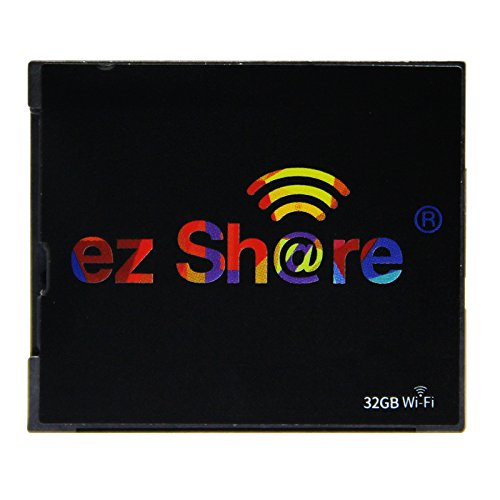 New hot Sold Ez Share WiFi cf Card 32G DLSR Camera Wireless Canon 7D highspeed 5D2 Compact Flash Memory Card WiFi Card (32GB) by EZ SHARE