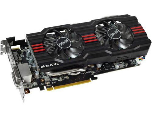 ASUS Graphics Cards with ASUS Exclusive DirectCU Thermal Solution (HD7870-DC2-2GD5-V2)
