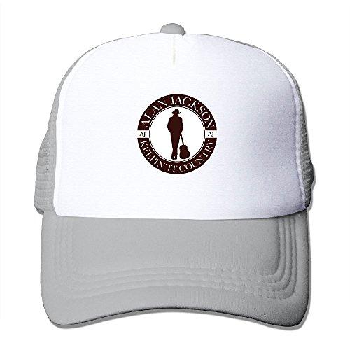 Nquqiyilu Men Alan Jackson Tour 2018 Cool Fashion Travel Ash Mesh Caps Adjustable ()