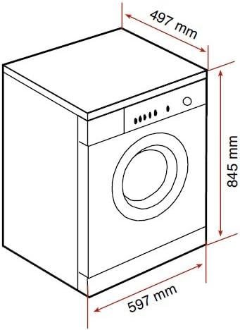 Teka TKX2 1050 T - Lavadora De Carga Frontal Tkx21050Tblanca De 5 ...