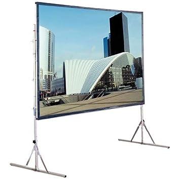 Draper Cinefold - Pantalla para proyector (Gris): Amazon.es ...