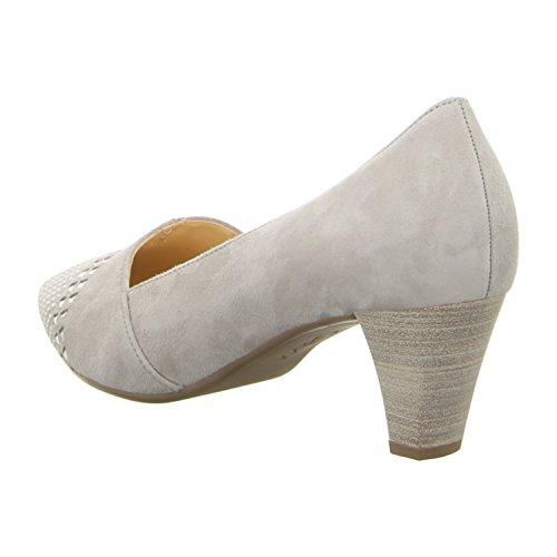 Gabor Shoes Fashion, Zapatos de Tacón para Mujer gris claro