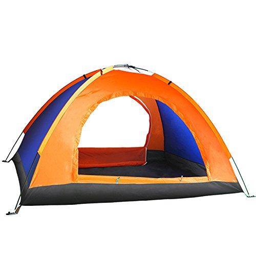 Cradifisho Zelt mit Großem Stauraum für 2 Personen, Campingzelt, 2 Zelt