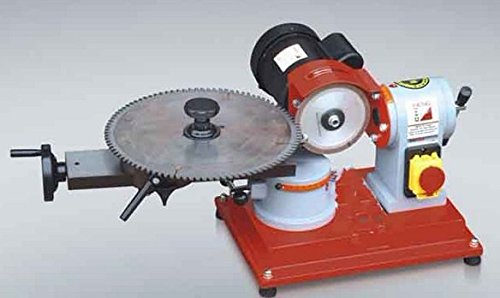 Heavy Duty 125mm Circular Saw Blade Grinder Rotary Angle Mill Sharpener for Sharpening Various Kinds of Carbide Tipped Saw Blades (Heavy Grinder Blade Duty)