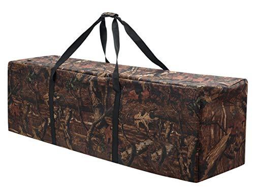 INFANZIA Premium Sports Duffel Bag Large Size Drum Equipment Hardware Travel Bag,Water Resistant Oversize,47 Inch,Camouflage