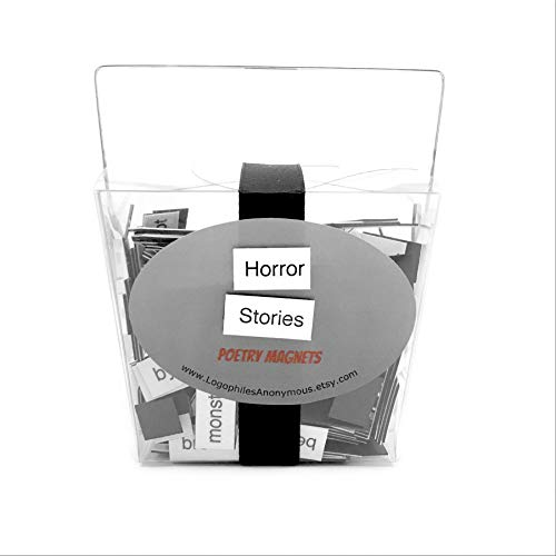 Horror Stories Poetry Magnet Set - Refrigerator Poetry Word Magnets ()