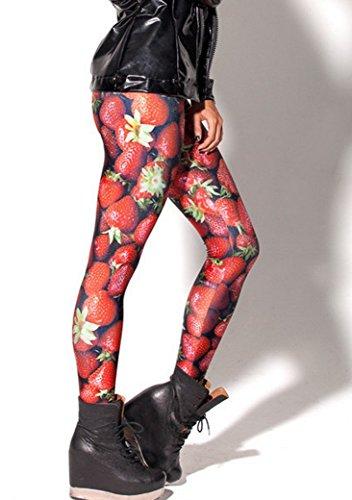 El Pantalones Sexy delgados Delgados Aivtalk pitillo impresos XCASqXxUw
