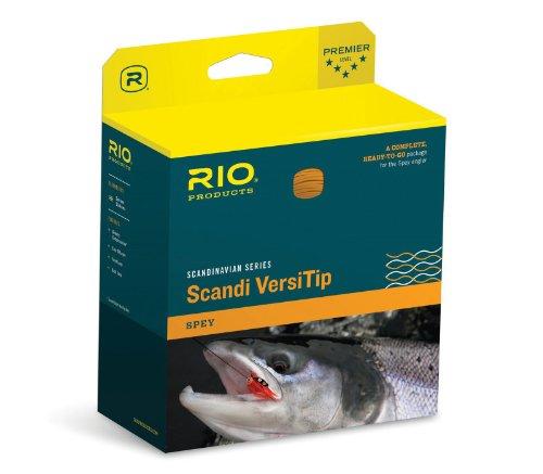Rio Scandi Short Versitip Fly Line 7wt 425gr Straw