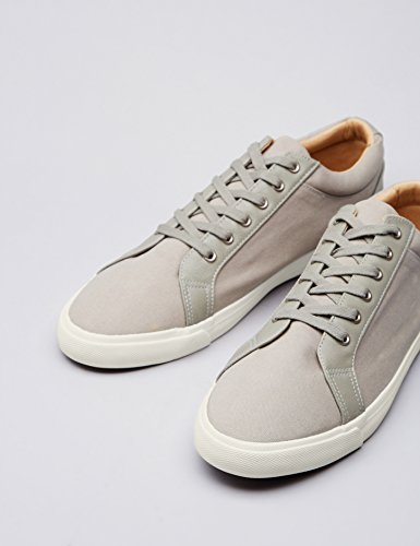 Grey aus Sneaker Herren FIND Grau Canvas SwFXRERxq