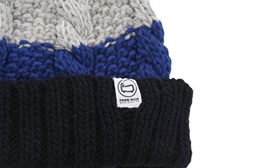 Cappello Navy Striped Dark Woolrich Hat Pon Blu Penn F Pennrich Donna qax08T