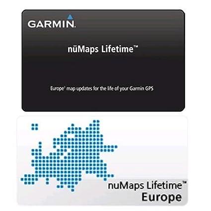 Garmin Numaps Lifetime Map Update Europe Map