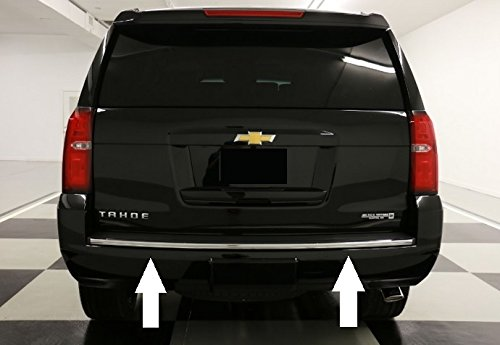 Chevy Tahoe / Suburban Chrome Bumper Trim Molding 2015 2016 2017 2018 15 16 17 18 Automotive Authority LLC®