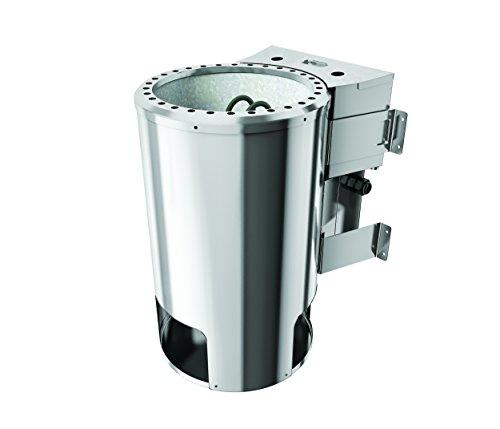 Karibu Bio-Kombiofen Plug & Play 3,6 kW externe Steuerung mit Steinen Leistung: 3,6kW (2 x 1,8 kW) Saunasteine: 18 kg Steuerung: extern Temperaturvorwahl: 25 - 80 °C elektrischer Anschluss: 230 V