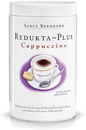 Sanct Bernhard Redukta-PLUS Cappuccino Mahlzeitenersatz 600 g