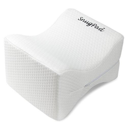 snugpad coxis Ortopédica Espuma de memoria almohada de rodilla cojín para la espalda alivio del dolor y Ciática y dolor de...