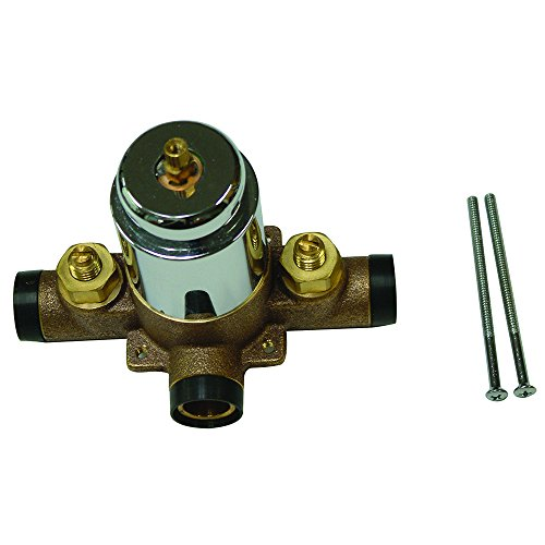 Kingston Brass KB3631SWTV Plumbing Swept Valve for Tub and Shower Faucet, 5-Inch, Polished Chrome by Kingston Brass