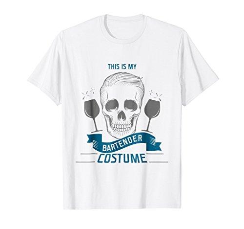 Bartender Halloween Costume Scary T-shirt Men Women Gift for $<!--$15.99-->