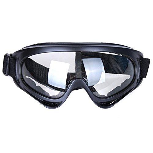 Snowboard Dustproof Sunglasses (Black) - 8
