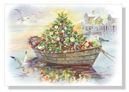 Amazon.com : Designer Greetings Red Farm Studio - Boxed Christmas ...
