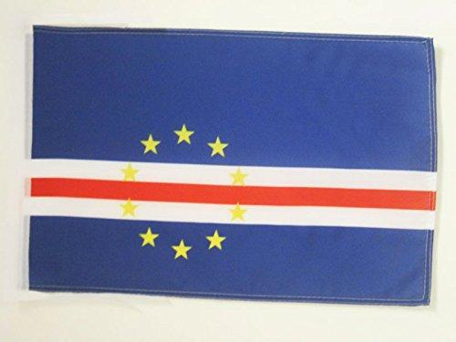 18 X 30 Cape (CAPE VERDE FLAG 18'' x 12'' cords - CAPE VERDEAN SMALL FLAGS 30 x 45cm - BANNER 18x12 in - AZ FLAG)