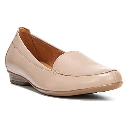 Loafer Leather Opera Saban Tender Slip Sheep On Naturalizer Taupe Women's Ifwqaa