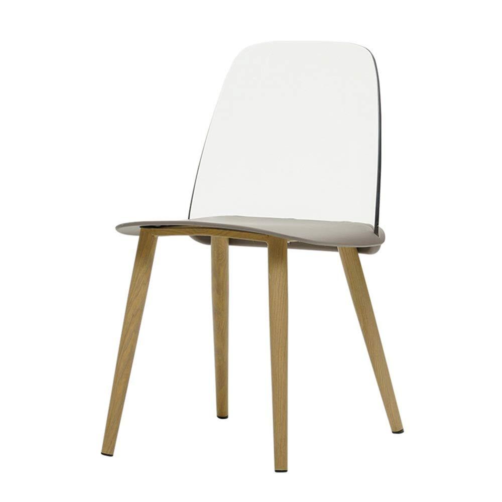 Subobo Vanity Hocker, Startseite Moderne Accent Vanity Dinning Stuhl mit Metallbeine for Wohnzimmer Schlafzimmer Dorm Stabiler-Well Moderne Hocker (Farbe, Größe : 40x50x79cm)