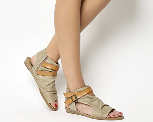 Blowfish Damen Balla Sandalen Desert Sand Canvas Dye Cut