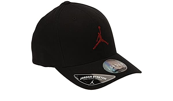Nike Jordan Flex - Gorra negro negro/rojo Talla:large/extra-large: Amazon.es: Deportes y aire libre
