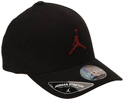 6e1ac013125f Nike Mens Jordan Unisex Flex Fit hat Black Gym Red 606365-010 Size  Large X-Large - Buy Online in UAE.