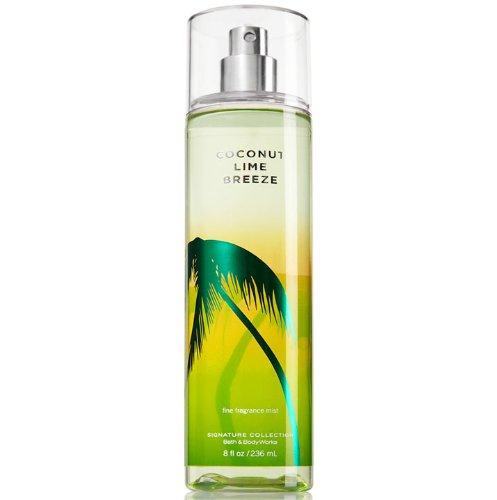 - Bath & Body Works Coconut Lime Breeze Fine Fragrance Mist, 8 Ounce
