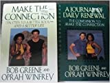 img - for Oprah Gift Collection: Make the Connection Ten Steps to a Better Life Hardcover and a Journal of Daily Renewal the Companion to Make the Connection Spiralbound Set book / textbook / text book