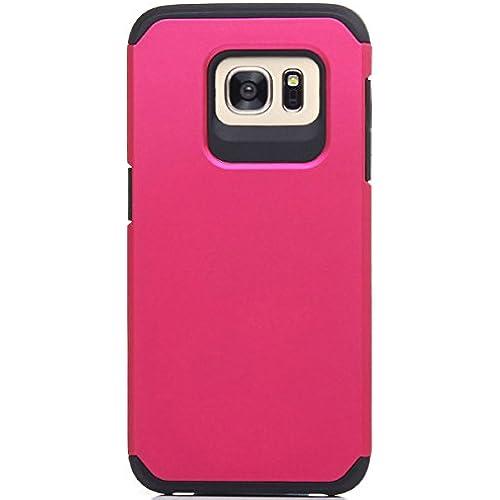 Galaxy S7 Edge case, S7 Edge case, Moleboxes, Premium Hybrid [Dual Layer] Armor Bumper [Shock Proof] Case Cover For Samsung Galaxy S7 Edge (Pink/Black) Sales