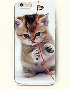 Case Cover For SamSung Galaxy Note 3 Cat Biting the Red String