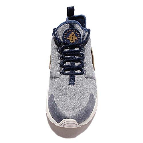 Nike Womens Wmns Air Huarache Run Ultra Se, Navy Di Mezzanotte / Navy Di Mezzanotte /, 7 Us