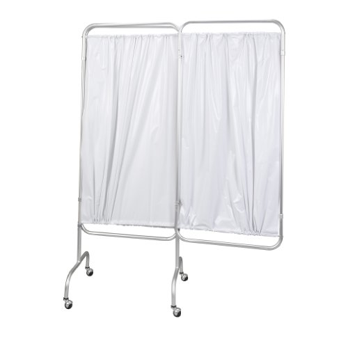 Drive Medical 3 Panel Privacy Screen, White by Drive Medical (Image #2)