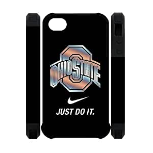 Forever Collectibles NCAA Ohio State Buckeyes Nike For Samsung Galaxy S3 I9300 Case Cover Dual Hard Cover Case-Just Do It