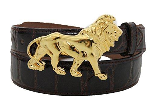 Dressy Leather Fashion Belt - 4