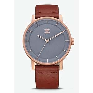 Adidas Reloj Analógico para Hombre de Cuarzo con Correa en Cuero Z08-2919-00: Amazon.es: Relojes