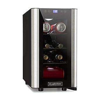 Klarstein Vinovista Picollo - Refrigerador para bebidas, Nevera ...