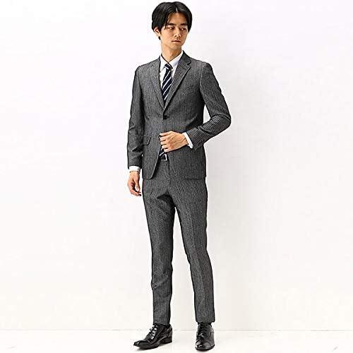 (TETE HOMME) ドビー柄スーツ