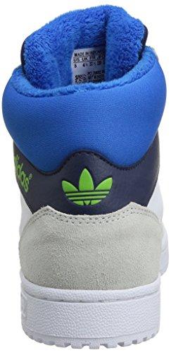 Adidas Pro Play K - Zapatos Ftwwht/dkblue/sesogr