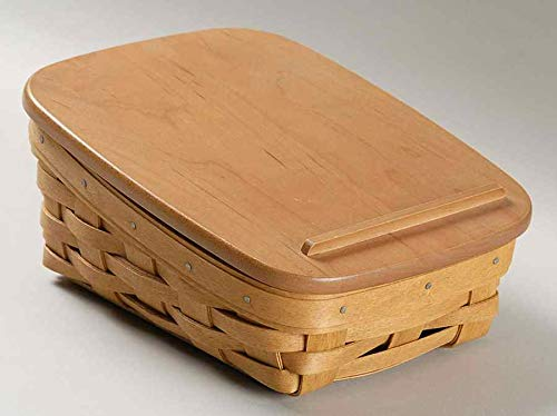 - Longaberger Note Pal Basket with Longaberger Woodcrafts Solid Lid