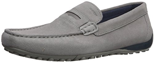 Geox Men's Snake Moc 20 Moccasin Stone free shipping outlet buy cheap for cheap footlocker Rg4BtLmgx2