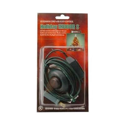 Ho Wah Gentin Kintron Sdnbhd 09493 Christmas Tree Cube Tap Extension Cord, 16/2, Green, 9-Ft.