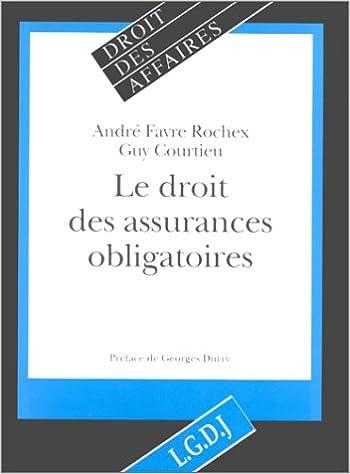 Livres gratuits Droit des assurances obligatoires pdf