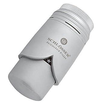 Thermostatkopf silber//matt für Heizkörper