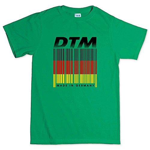 DTMRacingGermanyBarcodeMensT-shirtIGR5XL XXXXXL Irish Green