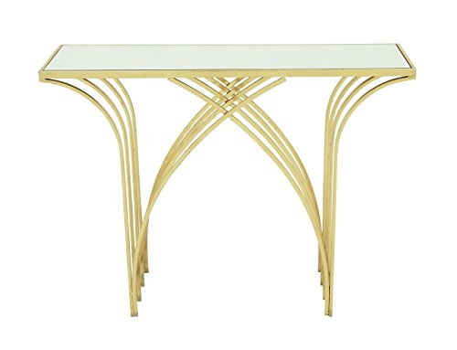 Deco 79 65550 Metal Mir Console Table, 41