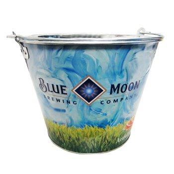 blue moon beer bucket - 4