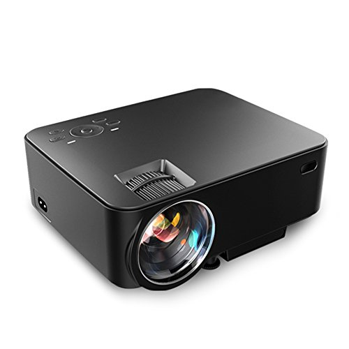 Aero Snail T30 1800 Lumens Mini Portable Video Projector(Warranty Included), Multimedia Home Theater, Support 1080P HDMI USB SD Card VGA AV for Blu-Ray DVD Player, PC, Laptop, XBOX PS3 PS4 (T30 Usb)